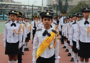 升旗隊於2018周年檢閱禮榮獲亞軍