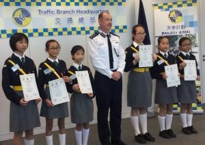 「天使計劃道路安全青少年領袖」計劃