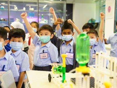 一年級參觀創科實驗室