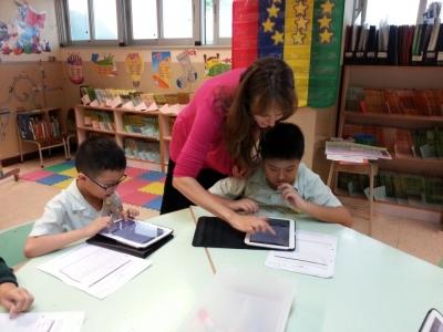 三年級電子學習--利用平板電腦發送英文電郵