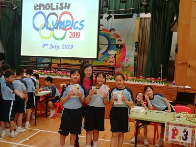 English Post-exam Activity – The English Olympics