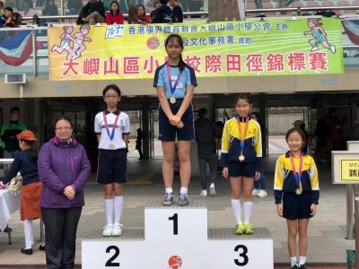 2018-19大嶼山區小學校際田徑比賽