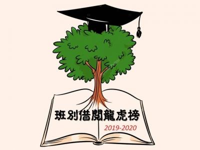 班別借閱龍虎榜2019-2020