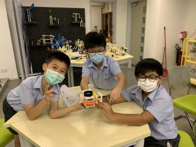 三年級STEM課程跑馬燈