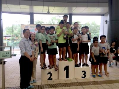 2017-2018 大嶼山區小學校際游泳比賽