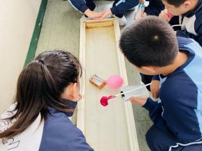 四年級常識科日常科探活動——環保動力船