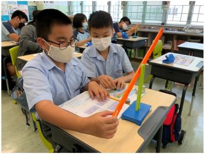 六年級常識科日常科探活動——槓桿原理
