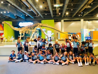 Primary 2 Life-wide Learning Activity - A Visit to Hong Kong Science Museum