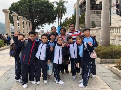 三年級常識科遊覽香港旅遊名勝