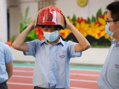 六年級常識科參與香港消防處校園教育計劃