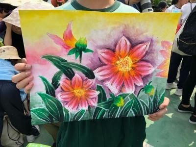 二零一八年香港花卉展覽 賽馬會學童繪畫比賽