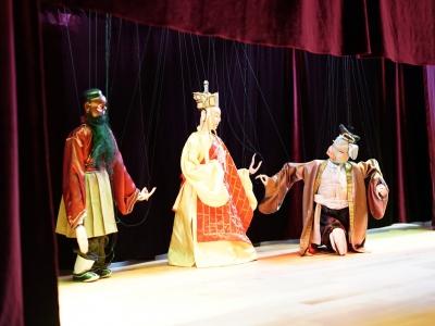 學校文化週---偶戲新姿表演