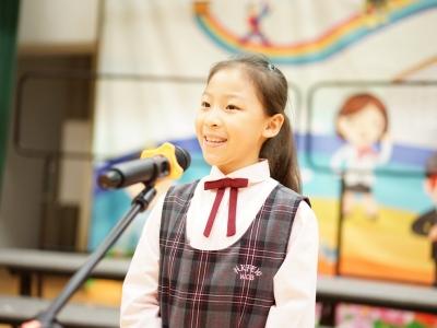 恭喜2C班李祉熹於第七十屆香港學校朗誦節普通話詩詞獨誦榮獲季軍。