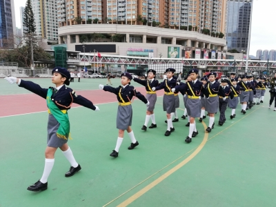 恭賀交通安全隊榮獲「新界南總區周年檢閱禮小學組冠軍」