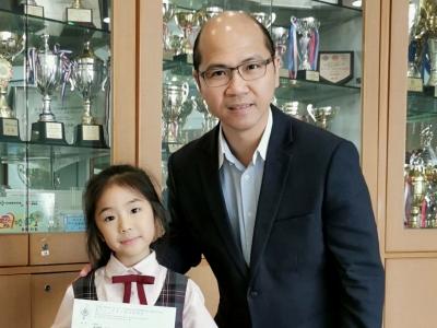 恭喜2G王向南同學於第七十一屆香港學校朗誦節普通話散文獨誦榮獲冠軍。