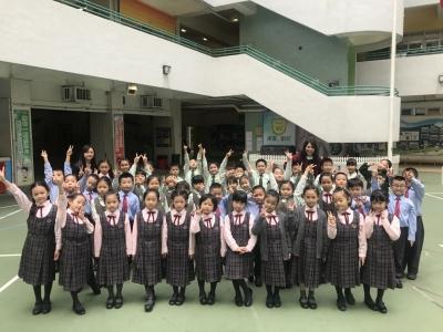 「第六十九屆香港學校朗誦節」-本校中、英集誦分別榮獲亞軍及季軍