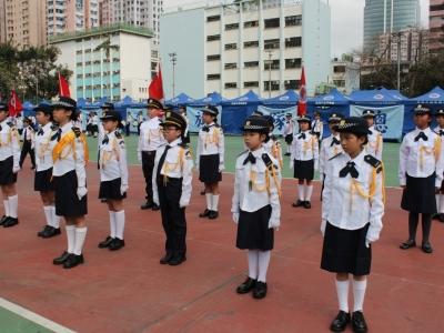 升旗隊榮獲2019年周年檢閱禮步操比賽亞軍