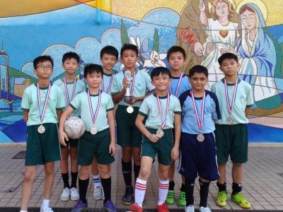 2017-2018年度 聖若瑟英文中學主辦「小學五人足球邀請賽」